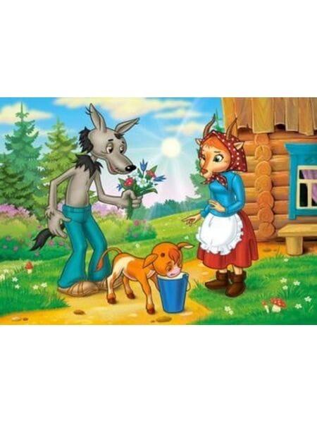 """120 дет. № 12315 """"Волк и теленок"""" , Castor Land*"""