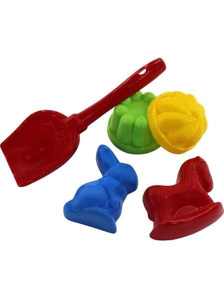 Набор №329: лопатка №5, 2 формочки + формочки 36070*