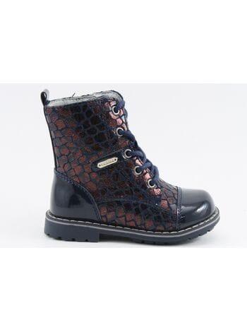 Ботинки Капика 51233ук-1 синий (21-25)**