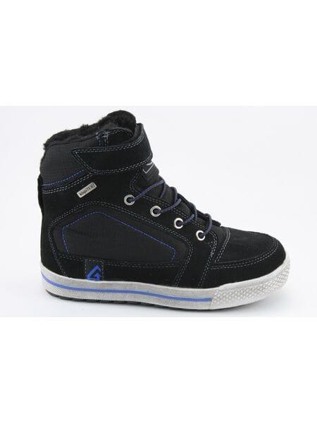 Ботинки Капика 43153-2 текстиль чер. (33-37)**