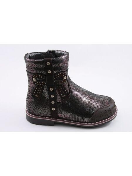 Ботинки Kapika 52325ук-1 коричневый (25-29)**