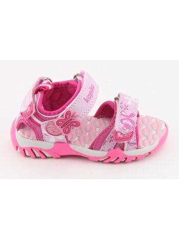 туфли открытые капика 81047-2 розовый (22-27)**