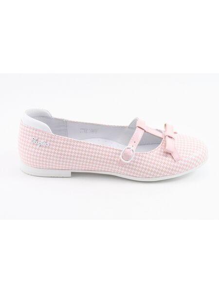 Туфли Капика 23441к-1 белый-розовый (30-33)**