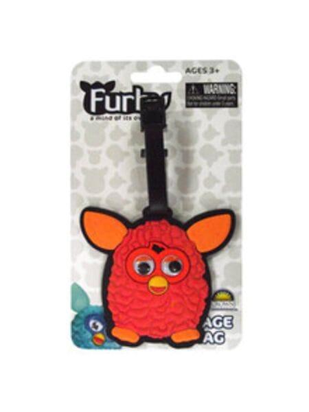 Furby. Брелок с двигающимися глазами, красный. 16503*