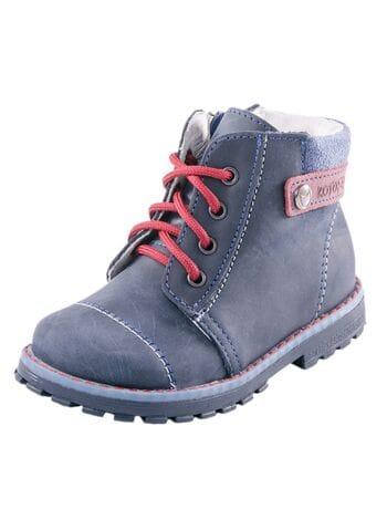 ботинки Котофей 252082-23 синий  (23-26)**