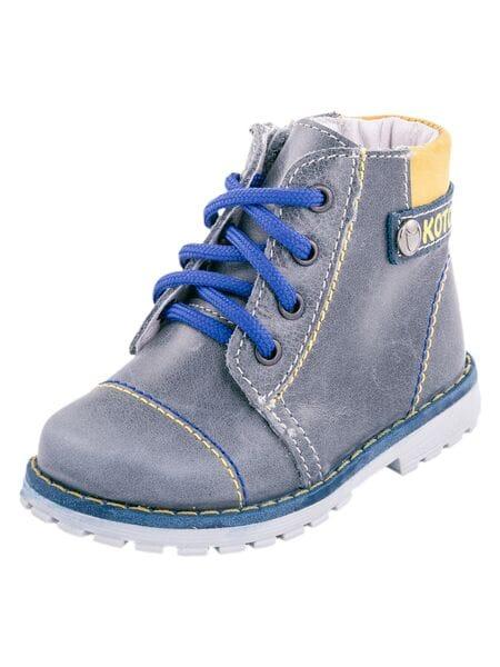 ботинки Котофей 052111-24 серый (20-22)**