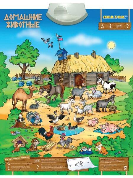 """Электронный плакат «Домашние животные""""PL-10-ZH*"""