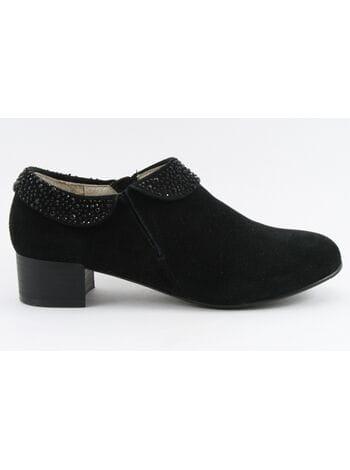 Антилопа туфли 714-5855 черн. (34-39)**