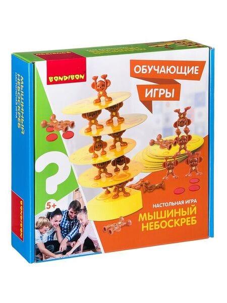 Bondibon Настольная игра «МЫШИНЫЙ НЕБОСКРЕБ», ВВ2422*