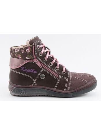 Ботинки капика 52080-1 бордо (26-31)**