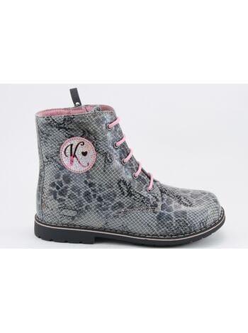 Ботинки Капика 52118-2 серый (28-33)**