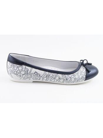 Туфли Капика 24436к-1 белый-синий (35-38)**