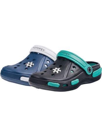 пляжная обувь  Котофей 525005-03 эва чер.\зел. (30-35)**