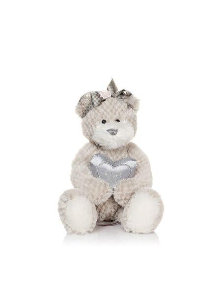 Мишка Белла С Сердечком 23 см MT-TS041007-33*