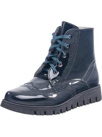 ботинки Котофей 752068-32 синий (35-39)**