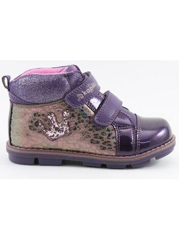 Ботинки капика 52227ук-2 фиолетовый (25-29)**