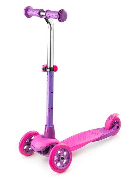 Трехколесный самокат Zycom Zing Mini  (розово-фиолетовый)*