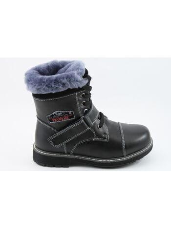 ботинки зимние 517-5939 черн. (32-37)**