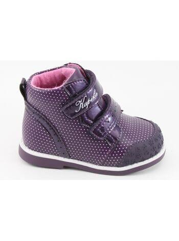 Ботинки Капика 51238ук-2 фиолетовый (21-24)**