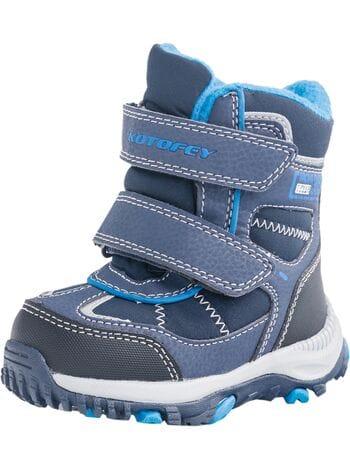 ботинки Котофей 254935-41 синий (22-25)**