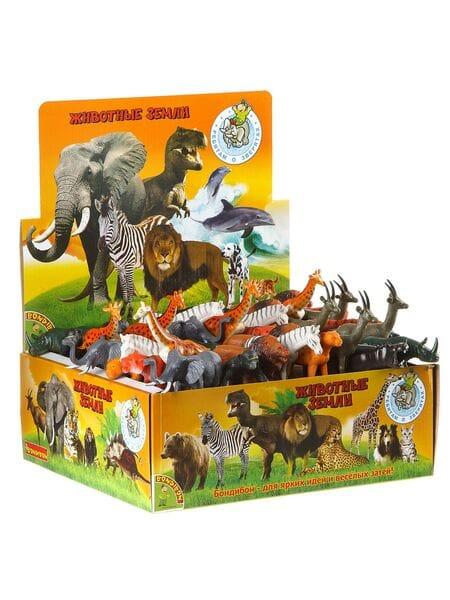 BONDIBON  животные джунглей 4 ВВ1607*