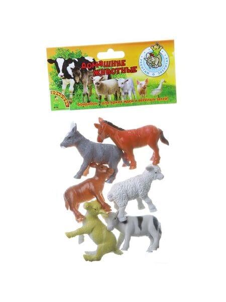 """BONDIBON , детёныши домашних животных, 3-3,5"""", 6 шт. ВВ1632*"""