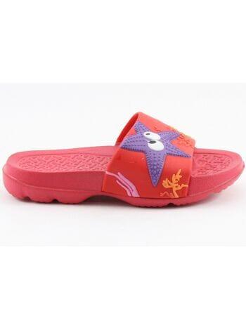 пляжная обувь капика 82042 красн (25-30)**