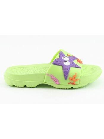 пляжная обувь капика 82042 зел. (25-30)**