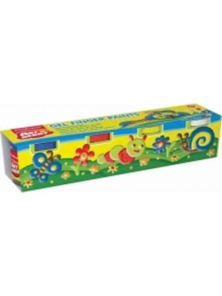 Краски пальчиковые Artberry 4 банки, 100мл 34819AB*