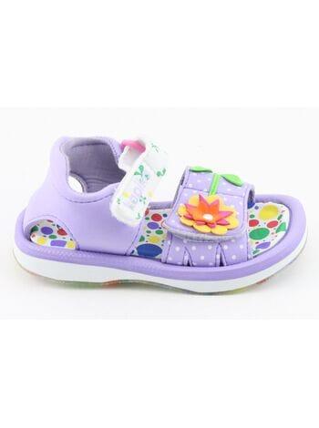 пляжная обувь капика 82058-3 фио.\бел. (23-28)**