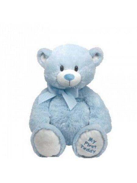 Classic. Медвежонок (голубой), 38 см 53067*