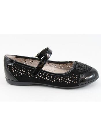 Туфли Капика 23493к-1 черный (33-36)**