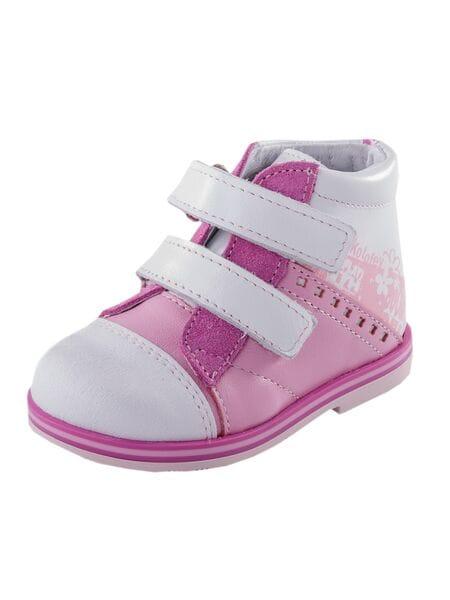ботинки Котофей 052100-21 нат. кожа бел-роз (20-22)**