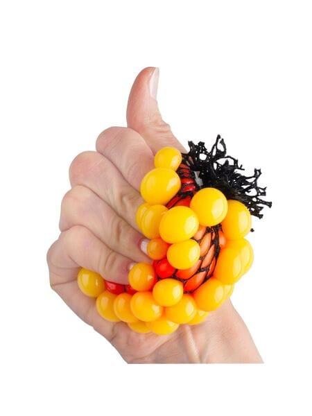 "Стрессбол ""Жмяка Мини"" - оранжевый в желтый STB014*"