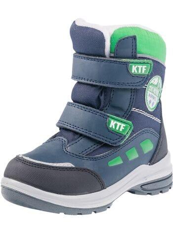 ботинки Котофей 254937-41 син-зел (23-26)**